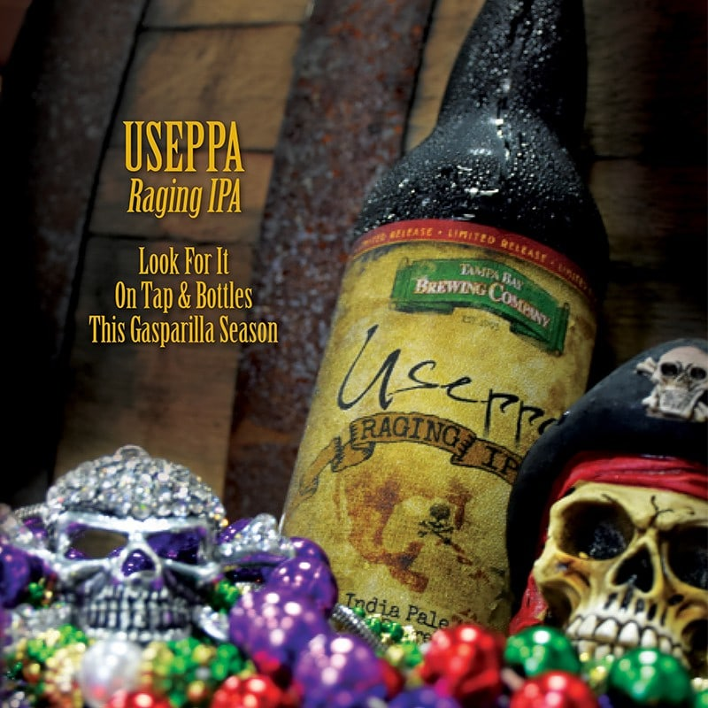 Useppa Raging IPA Craft Beer | Tampa Bay Brewing Company