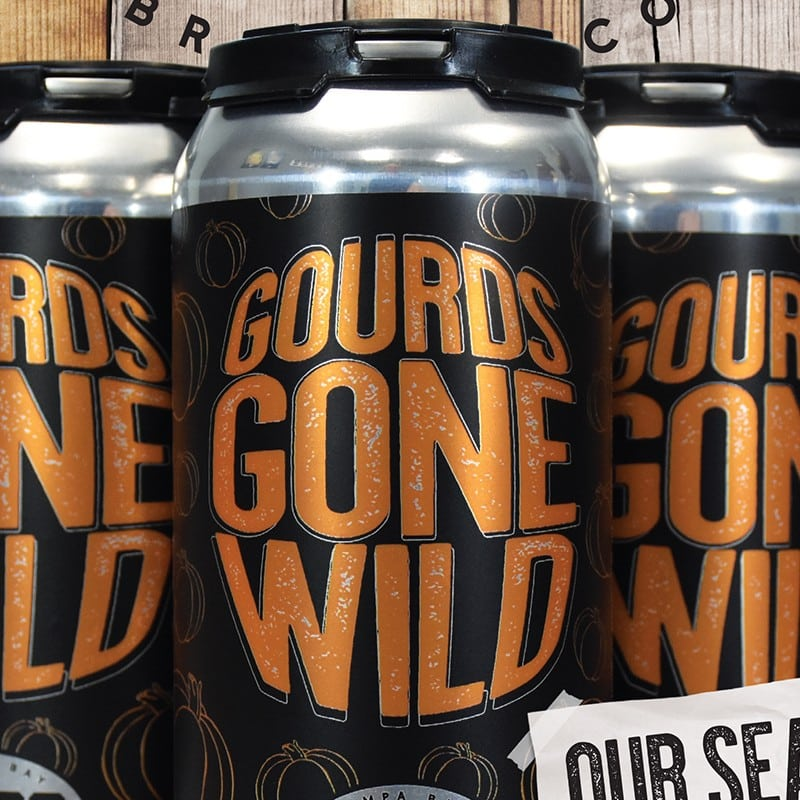 Gourds Gone WIld Craft Beer | Tampa Bay Brewing Company