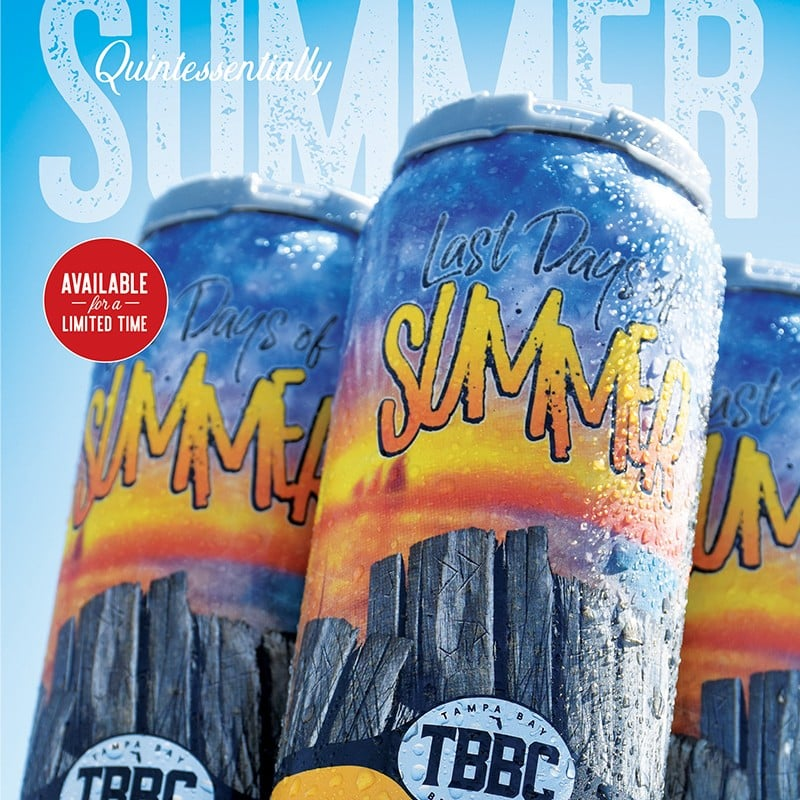 Last Days of Summer Craft Beer | Tampa Bay Brewing Company