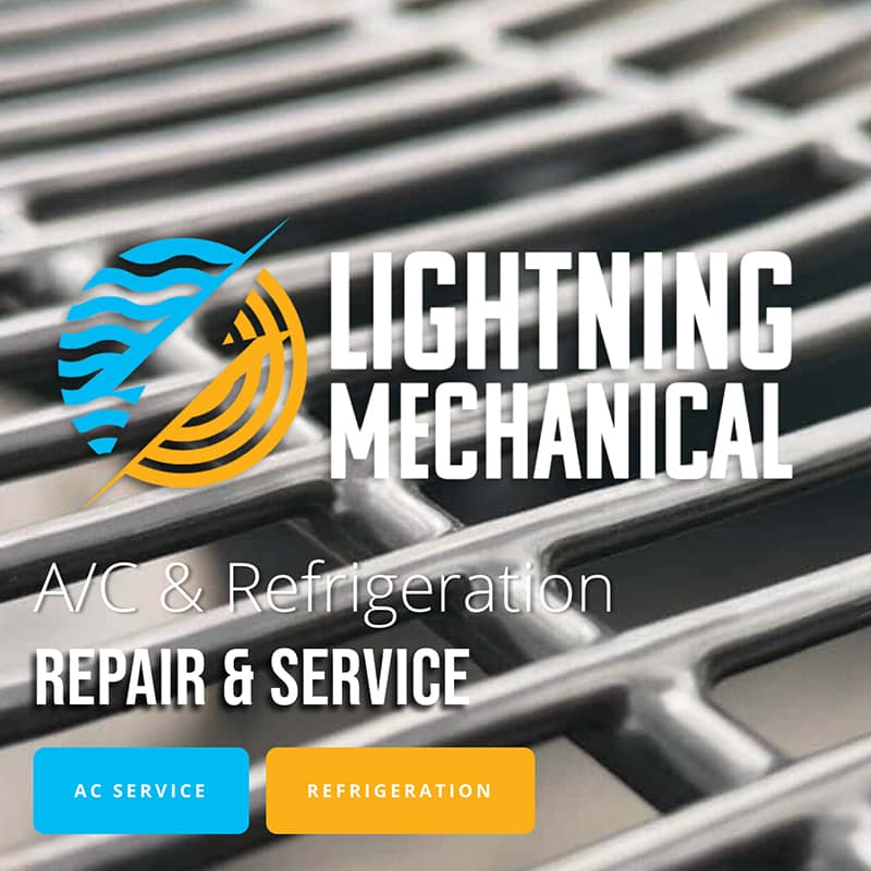 Lightning Mechanical Website